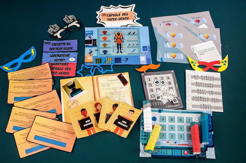 Escape kit - Escape game à la maison