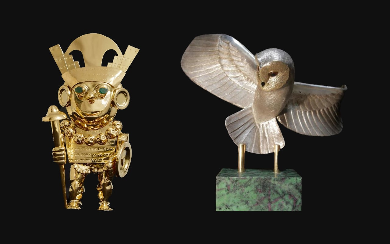 A la recherche des mystérieuses statuettes d'or